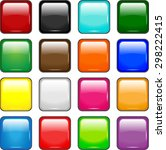 vector colored  square  glass... | Shutterstock .eps vector #298222415