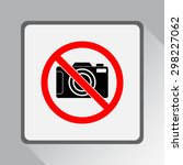 No Photographing Sign Icon ...