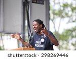 new york city   july 19 2015 ... | Shutterstock . vector #298269446