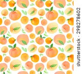seamless pattern with hand... | Shutterstock . vector #298278602