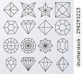 vector illustration of a set of ... | Shutterstock .eps vector #298293215