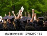 university graduation... | Shutterstock . vector #298297466