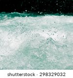 Whitewater Waves As Background