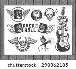 set of vector symbols related... | Shutterstock .eps vector #298362185