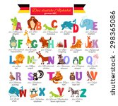 German Illustrated Zoo Alphabe...