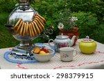 Russian Tea Party With Samovar...