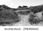 Small photo of Germany bunker WW2 ,Utah Beach is one of the five Landing beaches in the Normandy landings on 6 June 1944, during World War II. Utah is located on the coast of Normandy, France