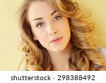 lifestyle  sunny. cute girl at... | Shutterstock . vector #298388492