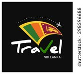 vector travel company logo... | Shutterstock .eps vector #298396688