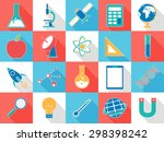 set of various colorful signs... | Shutterstock .eps vector #298398242