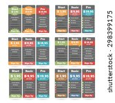 pricing table design templates...