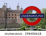 Sign Underground And Towers Of...