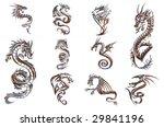 Chrome Collection Of Figures O...