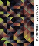 vector geometric pattern ... | Shutterstock .eps vector #298447175