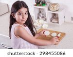 beautiful little middle eastern ... | Shutterstock . vector #298455086