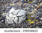 Rock Crushed By The Glacier In...