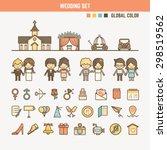 Wedding Infographic Elements...