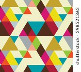 seamless pattern with... | Shutterstock .eps vector #298521362
