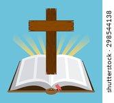 Holy Bible Design  Vector...