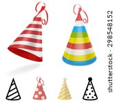 party hat | Shutterstock .eps vector #298548152