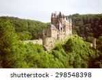 castle burg elz in the woods ... | Shutterstock . vector #298548398