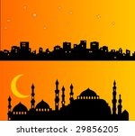 palaces ad buildings in the... | Shutterstock .eps vector #29856205