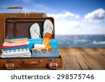 travel  traveler  pack. | Shutterstock . vector #298575746