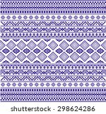 tribal ethnic pattern with... | Shutterstock .eps vector #298624286