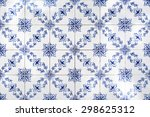 traditional portuguese tiles... | Shutterstock . vector #298625312