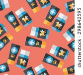 pet drug flat icon eps10... | Shutterstock .eps vector #298642595