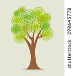 ecology digital design  vector... | Shutterstock .eps vector #298645778
