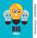 big idea design  vector... | Shutterstock .eps vector #298645835