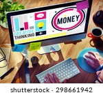 money accounting banking...   Shutterstock . vector #298661942
