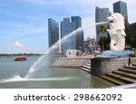 Singapore Jun 20  The Merlion...