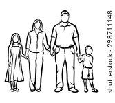 family | Shutterstock .eps vector #298711148
