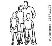 family | Shutterstock .eps vector #298711178