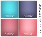 abstract creative concept... | Shutterstock .eps vector #298734506