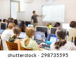 Workshop At University. Rear...