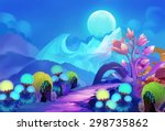 illustration  the colorful... | Shutterstock . vector #298735862
