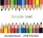 color pencils | Shutterstock . vector #298742462