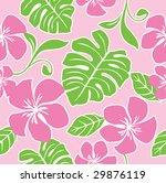 seamless hawaii summer pattern | Shutterstock .eps vector #29876119