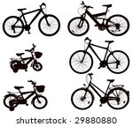 bicycle | Shutterstock .eps vector #29880880
