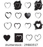 illustration of  a set of black ...   Shutterstock .eps vector #29883517