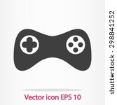 gamepad icon. vector. flat...