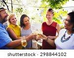 friends friendship party... | Shutterstock . vector #298844102