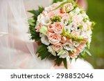 bridal bouquet   Shutterstock . vector #298852046