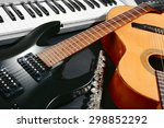 Musical Instruments  Closeup
