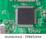 computer chip chips close up... | Shutterstock . vector #298852646
