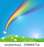 green environment illustration | Shutterstock .eps vector #298884716