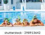 pool  fun  smiling.   Shutterstock . vector #298913642